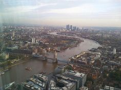 View from the Shard in London | Europe a la Carte Travel Blog