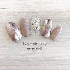Soft Nails, Shiny Nails, Pastel Nails, Bridal Nails Designs, Red Nail Designs, Japanese Nail Design, Japanese Nail Art, Cute Toe Nails, Great Nails