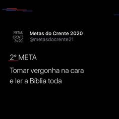 "Metas Crente 2020 on Instagram: ""Amém?"" Education, Instagram, Goals, Learning, Teaching, Studying"