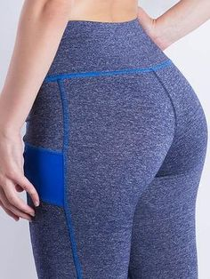 Fitness High Waist Elastic Super Stretch Women Leggings Workout Leggins Trousers Pants Women'S Leggings Blue 1031 S Workout Leggings, Workout Pants, Women's Leggings, Trend Fabrics, Polyester Spandex Fabric, Women Sleeve, Trouser Pants, Long Sleeve Crop Top, Pants For Women