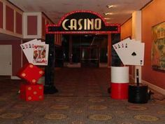 Casino Party Entrance