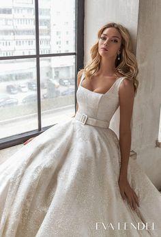 Wedding Dresses With Straps, Dream Wedding Dresses, Bridal Dresses, Minimalist Wedding Dresses, Elegant Wedding Dress, Wedding Colors, Wedding Styles, Wedding Ideas, Bridal Collection