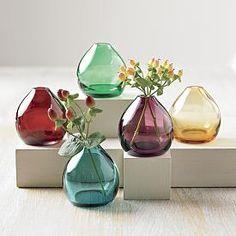 Pretty little vases.