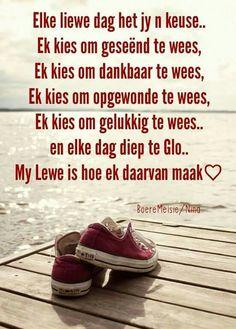 Keuses...#Afrikaans #Choices #2bMe