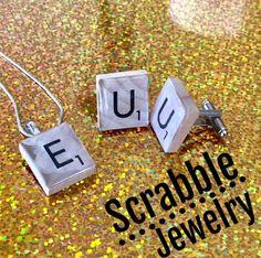 DIY Scrabble Jewelry!