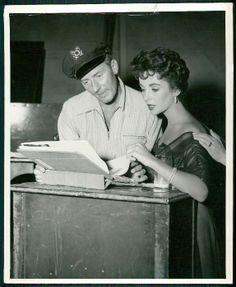 1955 Original Photo ELIZABETH TAYLOR and Michael Wilding, CLASSIC BEAUTY!! picclick.com