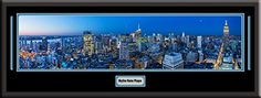 New York City US Skyline Panoramic Comes With 1 1/2 Inch Black Leather Frame-D/Matted W/Small Plaque Art Print - Large Framed Picture - Awesome and Beautiful! This Is a Must for Any Home or Office Decor! Art and More, Davenport, IA http://www.amazon.com/dp/B00KIMDWO6/ref=cm_sw_r_pi_dp_FrsEub0M8KK53