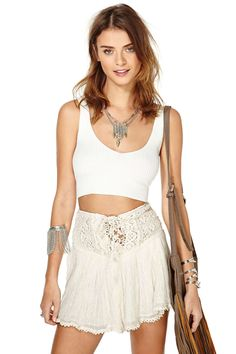 Moon Stone Crop Top | Shop What's New at Nasty Gal