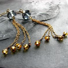 I got these earrings from noblegnome - they are beautiful!