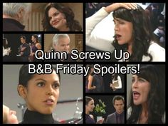 The Bold and the Beautiful (B&B) spoilers for Friday, November 11, tease that Quinn (Rena Sofer) will vent to Wyatt (Darin Brooks) and Ivy...