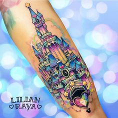 """5,772 Likes, 64 Comments - Disney Tattoos Worldwide (@disneytattooart) on Instagram: """"Done by @lilianraya  from Mexico! Go follow @lilianraya @lilianraya @lilianraya to see more work!…"""""""