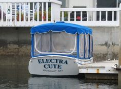"This morning the ""older"" adults piled into the electric boat and cruised around the harbor. I always enjoy clever boat names. This boat. Clever Boat Names, Cool Names, Electric Boat, Boating, Cruise, Ocean, Beach, Fun, Fin Fun"