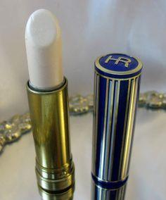 ~~Vintage Helena Rubenstein Moisture Ice Pink Snowflake Lipstick in Blue and Gold Case~~