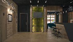 """Дизайн ресторана """"The dym"""" на Оболонской набережной"""