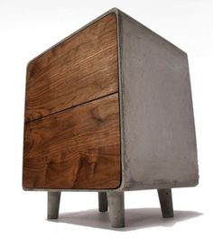 Concrete Cabinet by Jen Willoughby.