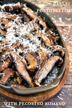 Garlic Portobello Mushrooms by The Wicked Noodle