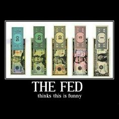 The Federal Reserve is neither federal or a reserve of any kind; it is nothing but a criminal banking cartel.