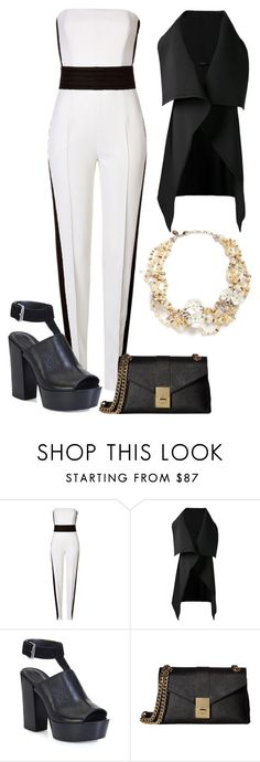 """""""Untitled #984"""" by maria-cmxiv on Polyvore featuring Emilio Pucci, Sid Neigum, Rebecca Minkoff, Calvin Klein and Erickson Beamon"""