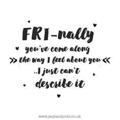 Fri-nally! It's here. What are your plans for the weekend #Cheshire  Shop now >> http://ift.tt/1nyu66z  #Friday #thatFridayfeeling #frinally #weekend #Altrincham #jewellery #jacyandjools #lovejacyandjools #follow #sharethelove #socialmedia #relax #friends #family #sterlingsilver #stackingbracelets