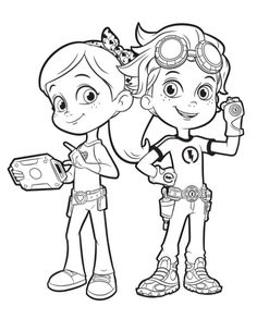 Rusty Rivets and Ruby Ramirez - #RustyRivets on #Nickelodeon and #TreehouseTV  Go to: http://www.nickjr.com/rustyrivets