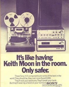 More then 3000$ (y) High fidelity in the 80's #sony #highfidelity #3000$ #music #pickup #speakers #magnetofon