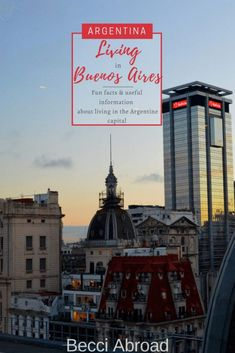 Living in Buenos Aires: need-to-knows & nice-to-knows - Becci Abroad Travel Articles, Travel Advice, Travel Tips, Amazing Destinations, Travel Destinations, Sense Of Life, Argentina Travel, South America Travel, Group Travel