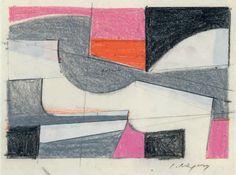 "Yannis Moralis - Study for ""Eros"", 1980"