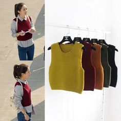 I found some amazing stuff, open it to learn more! Don't wait:https://m.dhgate.com/product/wholesale-women-knitted-sweater-vest-wine/394554307.html
