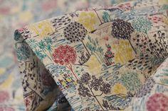 Sabrina Red - Liberty Of London - Tessuti Fabrics - Online Fabric Store - Cotton, Linen, Silk, Bridal & more