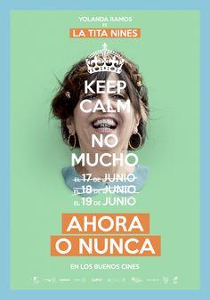 Yolanda Ramos es la Tita Nines en 'Ahora o Nunca'