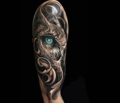 Animal Tattoos Realistic Lower Back Tattoos - Tattoos For Women Small Unique Body Art Tattoos, New Tattoos, Sleeve Tattoos, Tattoos For Guys, Arm Tattoos Owl, Anchor Tattoos, Maori Tattoos, Bird Tattoos, Feather Tattoos