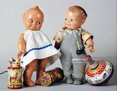 Celluloid Kewpie Dolls c1925-1930