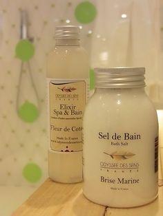 Szeroka gama zapachów soli do kąpieli, a także eliksirów...