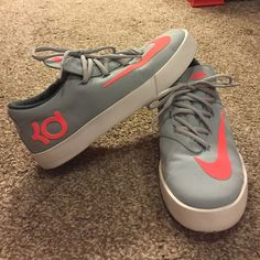 save off cf191 78512 Canvas Nike KDs (Kevin Durants) These I found in the kids section (after