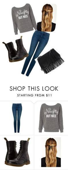"""""""Fan fiction"""" by camillastergaa on Polyvore featuring NYDJ, Dr. Martens, Natasha Accessories and White House Black Market"""