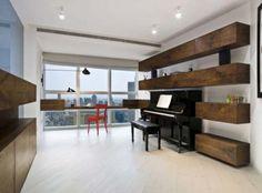 Piano built in
