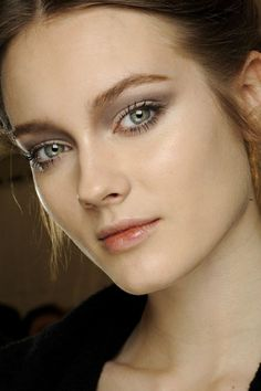 Valentino - Autumn/Winter 2012-13  Gentle contouring in lilacs and greys