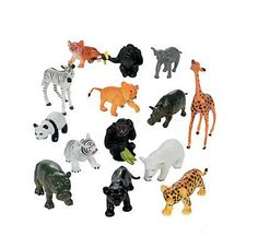 Create your own zoo or jungle safari with these vinyl baby animals. Perfect for pretend play in the classroom or party favors for your safari soiree! Jungle Party, Jungle Safari, Jungle Theme, Jungle Animals, Cute Baby Animals, Safari Party, Safari Theme, Circus Theme, Circus Party