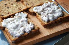 Raisin Bread w/ Vegan Cream Cheese Nut Spread   via recipe Vegalicious #vegan
