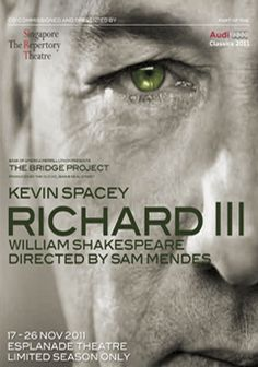 kevin spacey as richard iii - world tour
