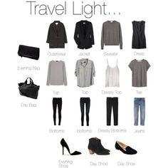 """Travel Light... Almost | http://travelaccessorystuff.blogspot.com"