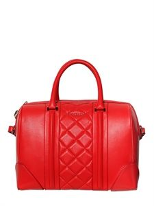 GIVENCHY - MEDIUM LUCREZIA QUILTED NAPPA TOP HANDLE - luisaviaroma