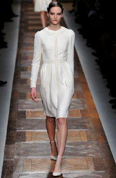 Pure white. Pret a Porter - F/W 2012-2013 Valentino