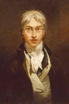 Joseph Mallord William Turner Self Portrait. 1798. Shortly before Turner became a Royal Academy member
