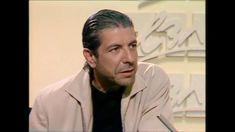 Leonard Cohen on Israeli TV, 1985, a rare interview - YouTube