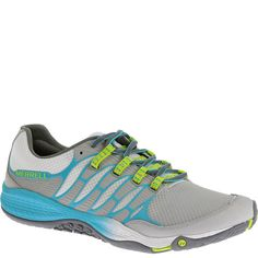 06324 Merrell Women's All Out Fuse Athletic Shoes - Lime
