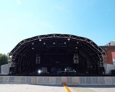 The Stage! - Royal Blood - Summer in the City - Manchester Castlefield Bowl July 2014