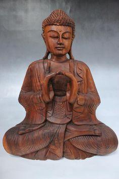 yoga buddha figur aus holz die holzfigur kommt aus sudostasien sie wollen mehr uber