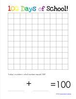 Calendar Notebook Binder Printables Kids 100th Day Activities