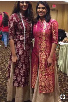 Golden Threads Boutique Kavitha Gutta Contact 9848819447 is part of Dresses - Kurta Designs Women, Salwar Designs, Kurti Neck Designs, Kurti Designs Party Wear, Saree Blouse Designs, Dress Designs, Indian Gowns Dresses, Brocade Dresses, Pakistani Dresses